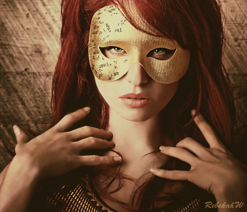 Photograph Behind the Mask by Rebekah W on 500px