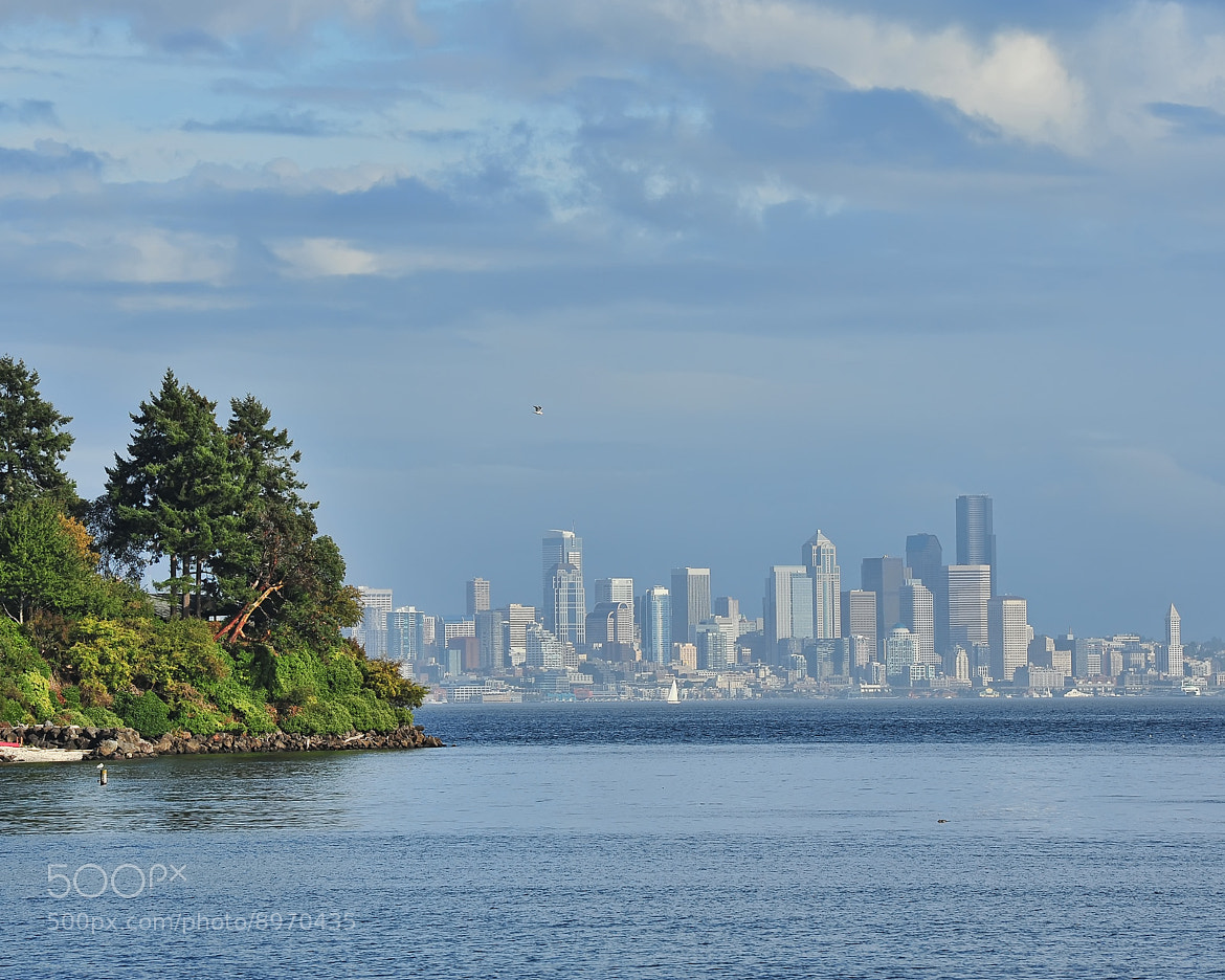 Photograph Seattle from Bainbridge Island by Doug Mahugh on 500px