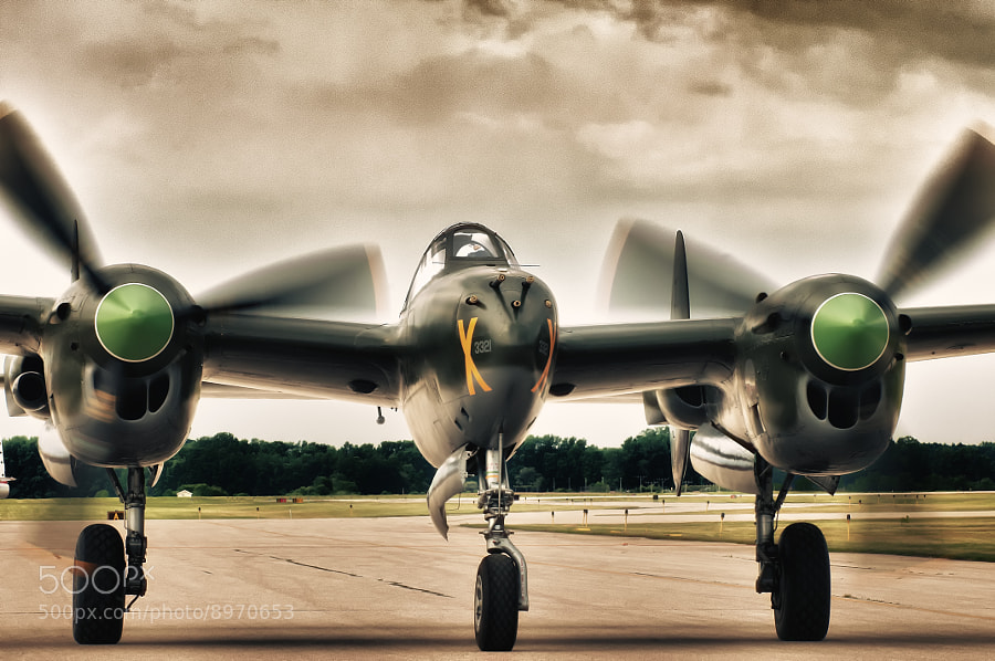 Photograph Ruff Stuff - P-38 Lightning by Jeff Greger on 500px
