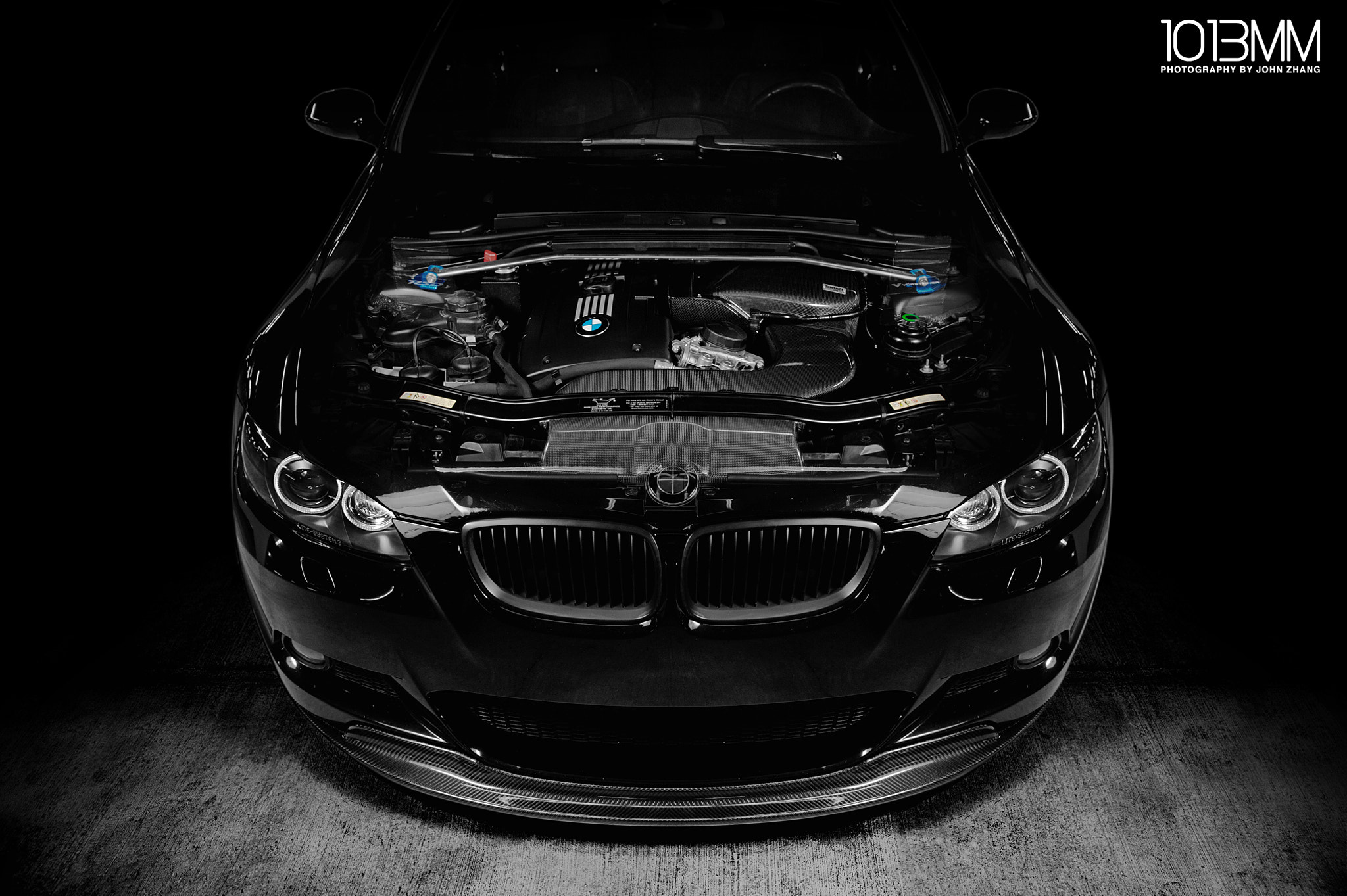 Photograph Alan's BMW 335i Coupe by John Zhang on 500px
