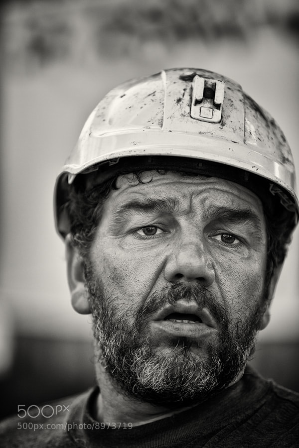 Photograph 32 days coal miners Asturias by Lujó Semeyes on 500px