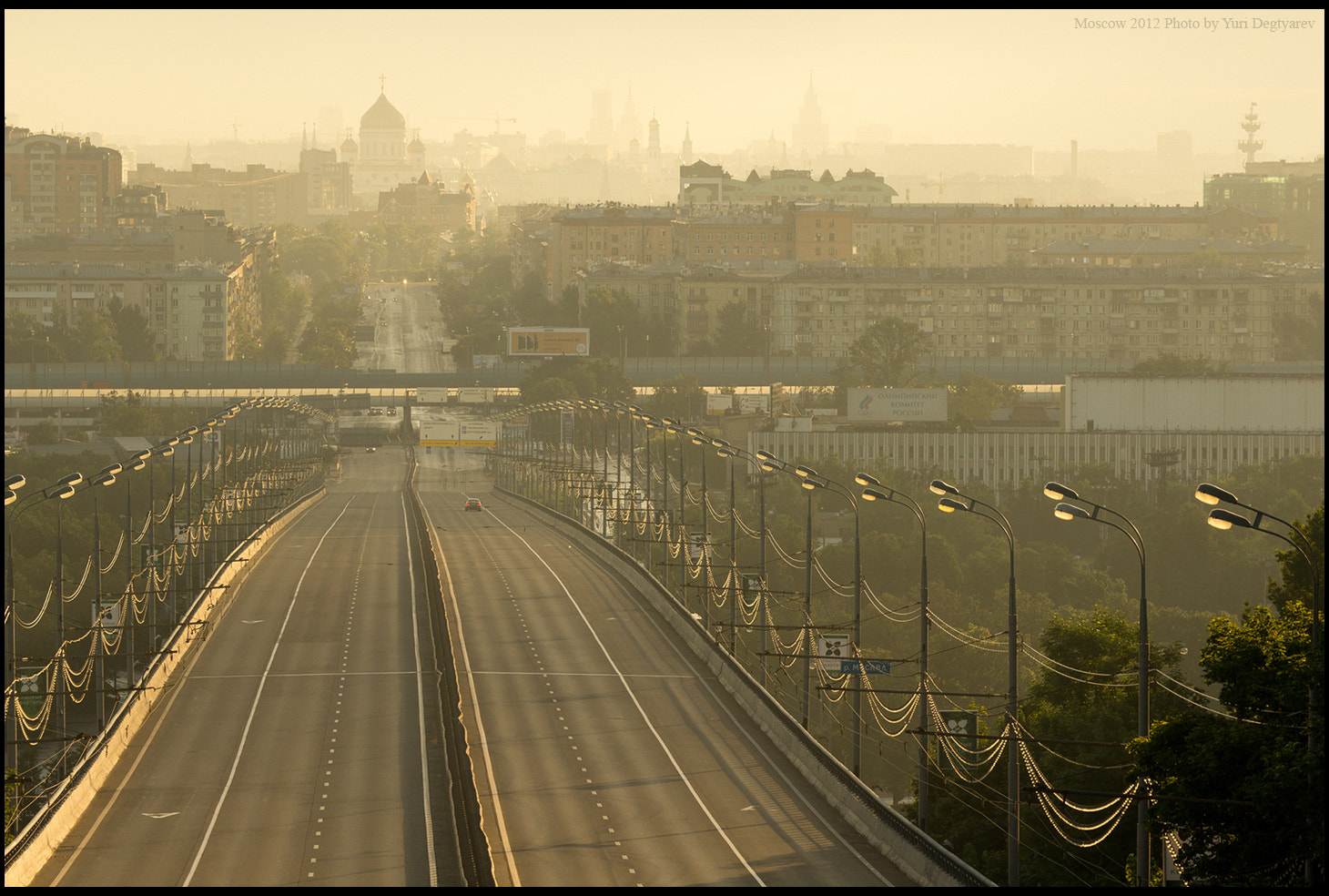 Photograph Russia. Moscow at dawn. by Yuri Degtyarev on 500px