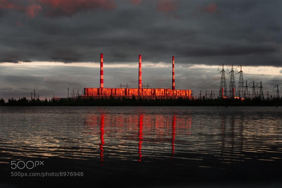 Photograph Surgut power plant. by Vitaliy Vetrof on 500px