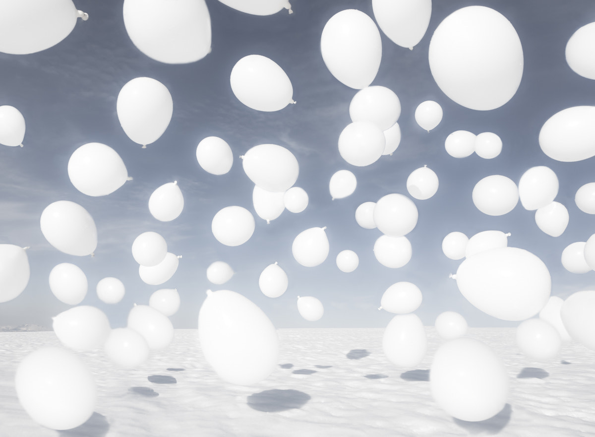 Photograph White balloons by audun nygaard on 500px
