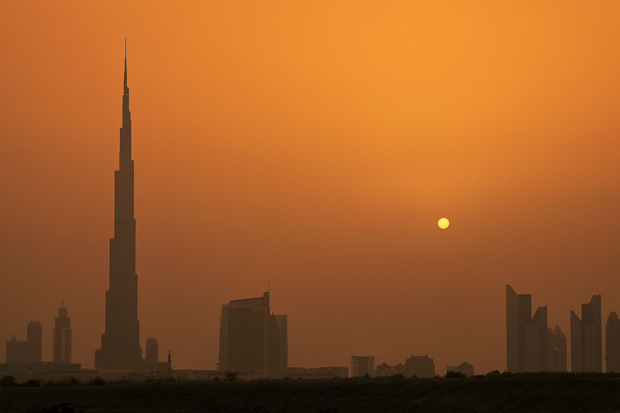 Photograph The Burj Sunset by Mario Moreno on 500px