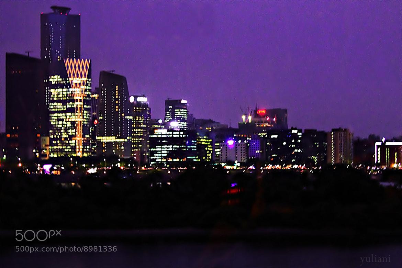 Photograph Seoul night sky by Yuliani Liputo on 500px