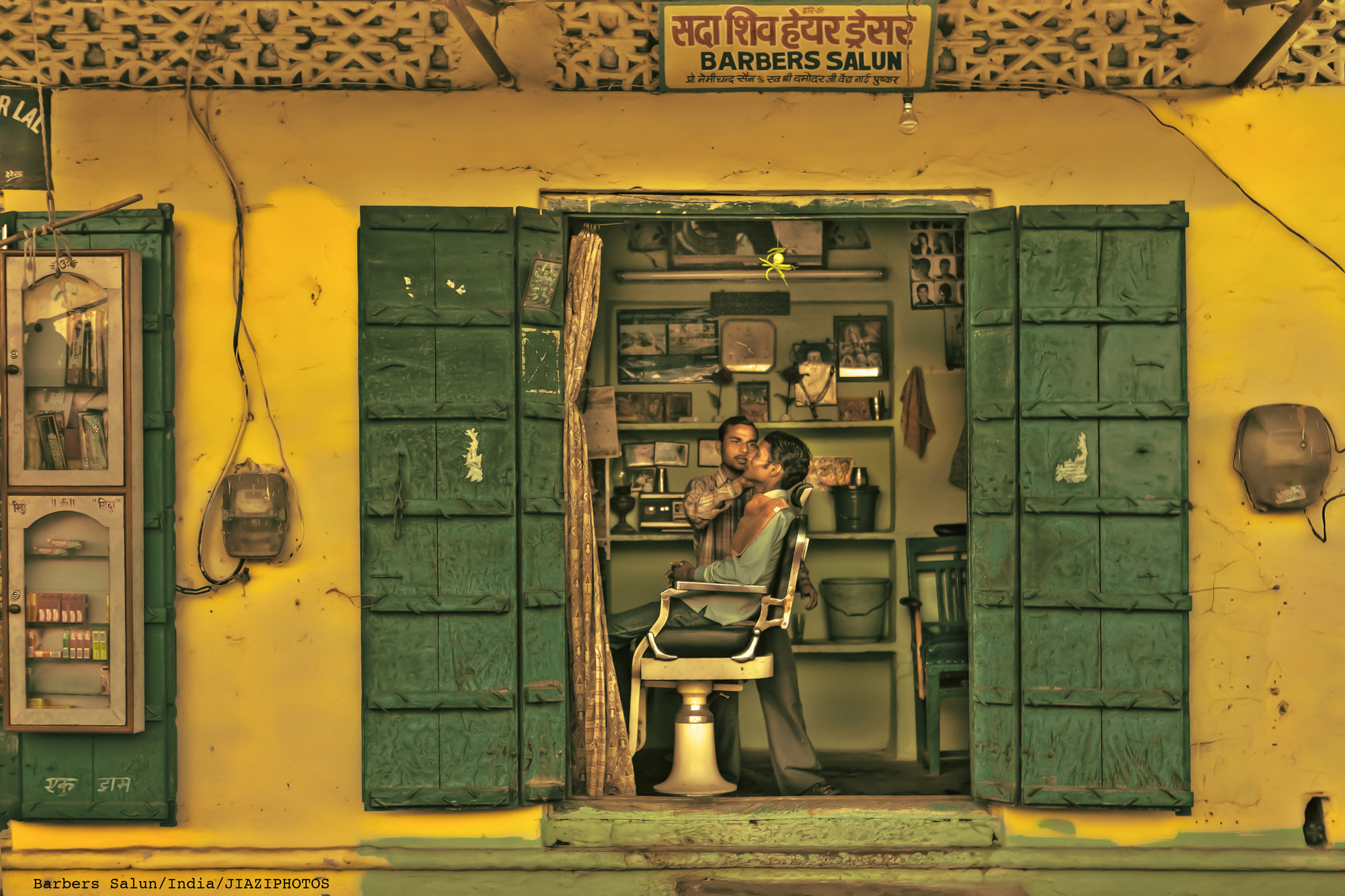 Photograph Barbers Salun by JIAZI . on 500px