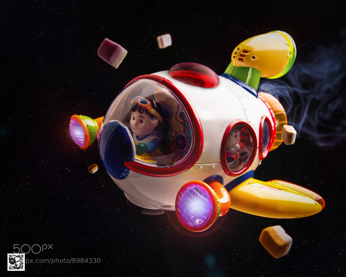 Photograph Space Flight by Paul Monaghan on 500px