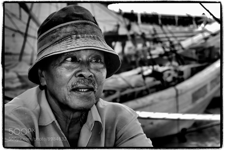 Photograph Old man  by Prabu dennaga on 500px