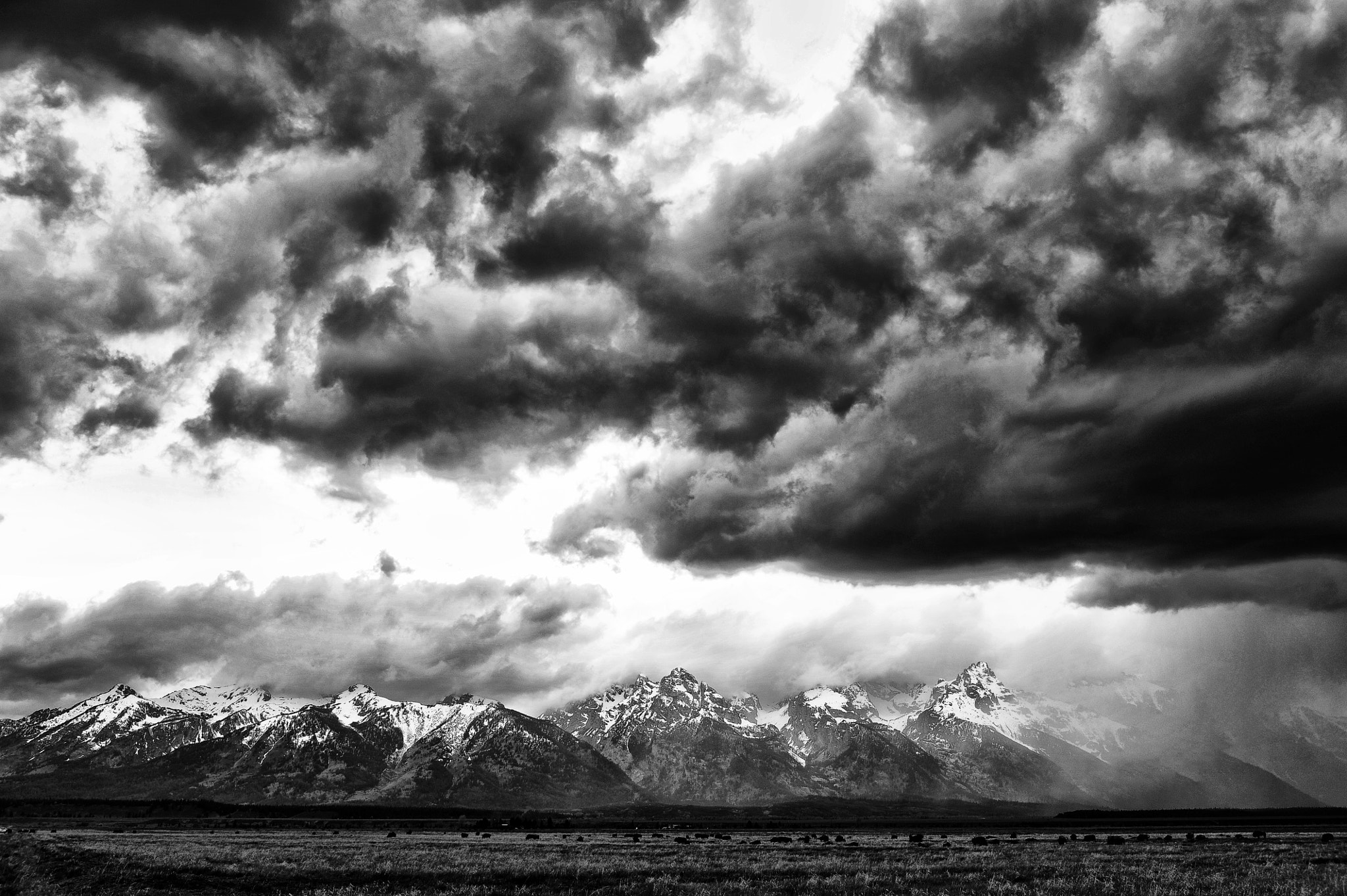 Photograph Storm Over the Tetons by Jeff Clow on 500px