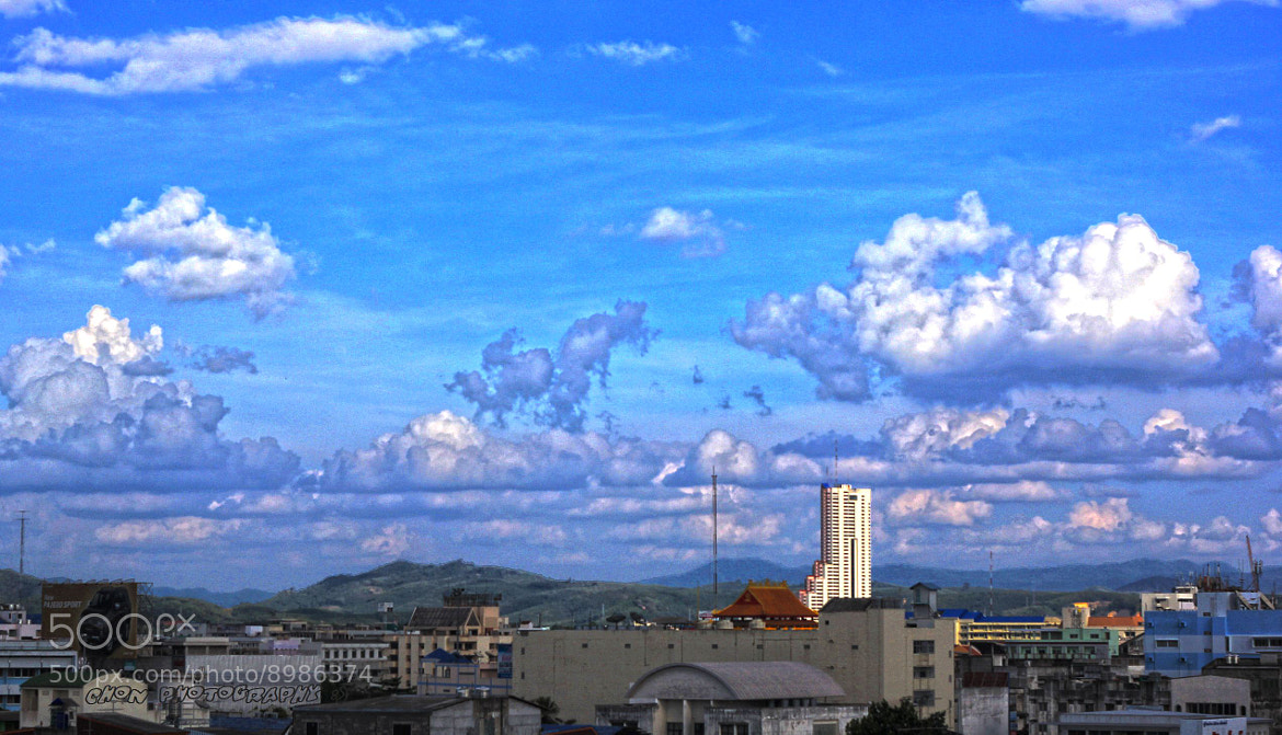 Photograph ...my blue sky....HDR by chon chan on 500px