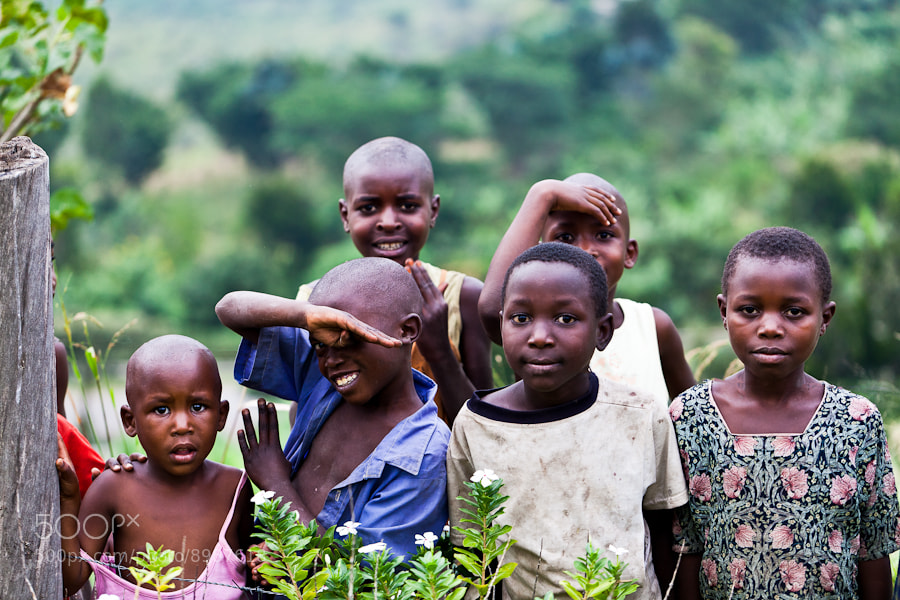 Photograph Children in Uganda by Wolfgang Wörndl on 500px