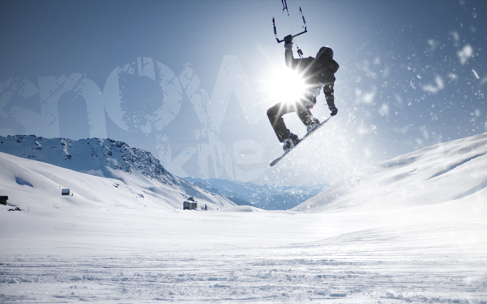 Photograph Snow Kite by Florian le Grelle on 500px