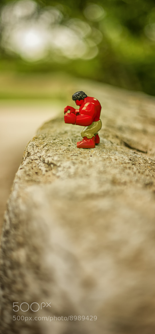 Photograph Red Hulk Heats Up by Shawn Miller on 500px