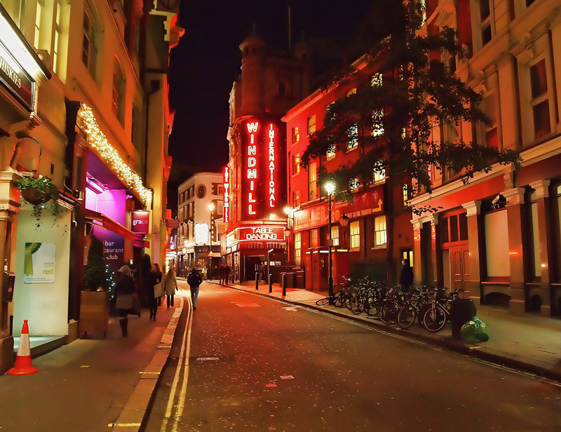 Photograph November night in Soho by Fuad Babayev on 500px