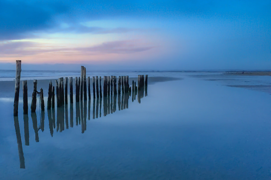 Photograph Blue Hour Posts - iPhone by Tony Antoniou on 500px