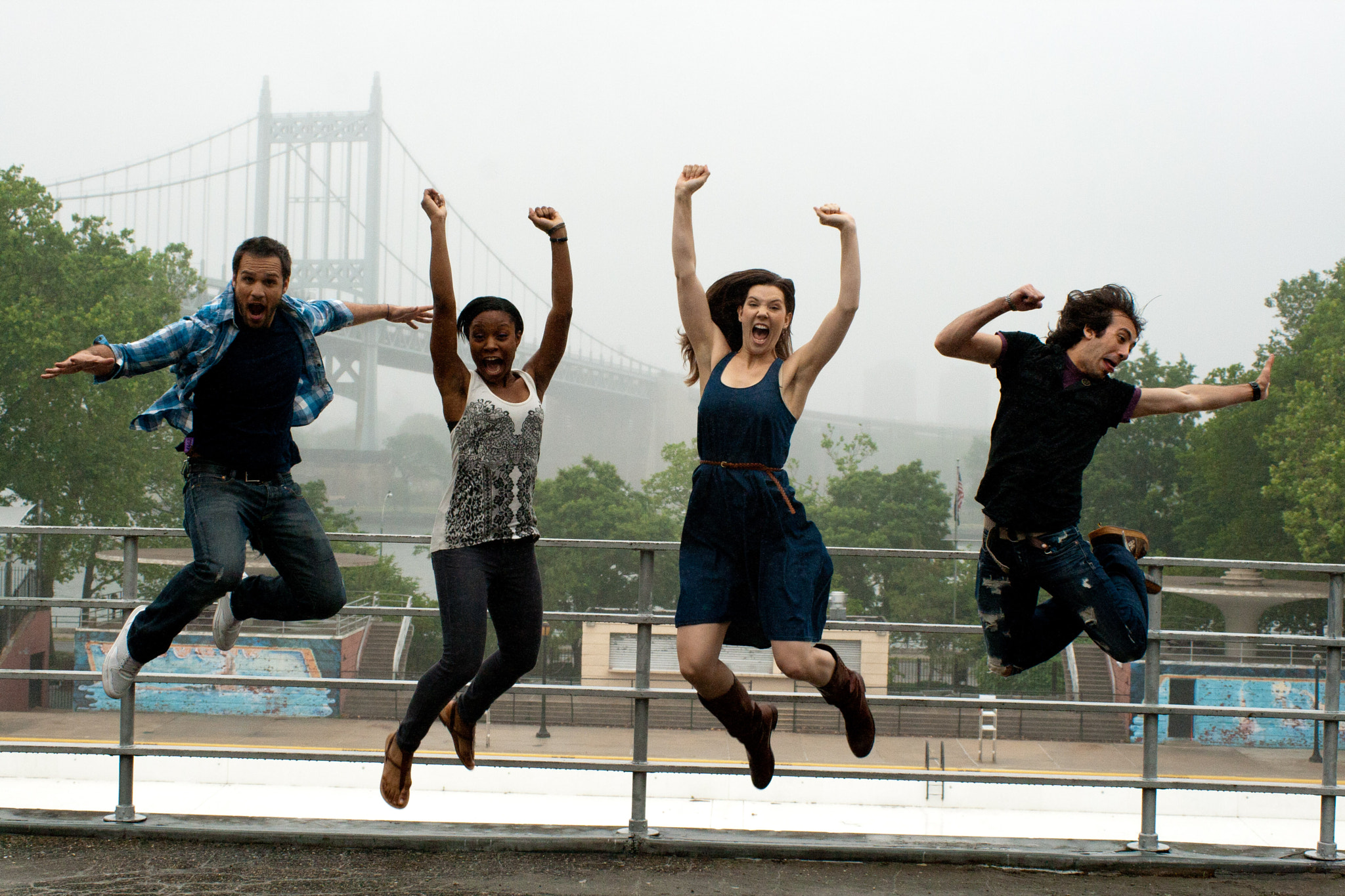 Photograph The Upstarts: Group Jump by Robert M. Errera on 500px