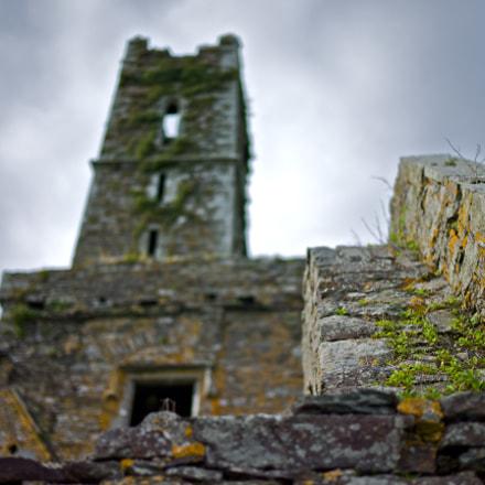 Broken old castle