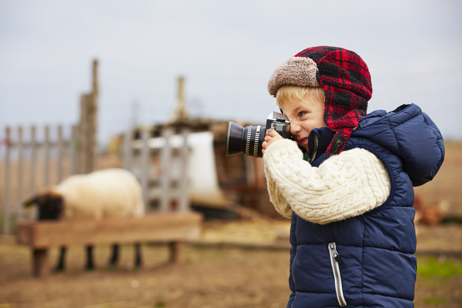 Photograph Little photographer by Jaromír Chalabala on 500px