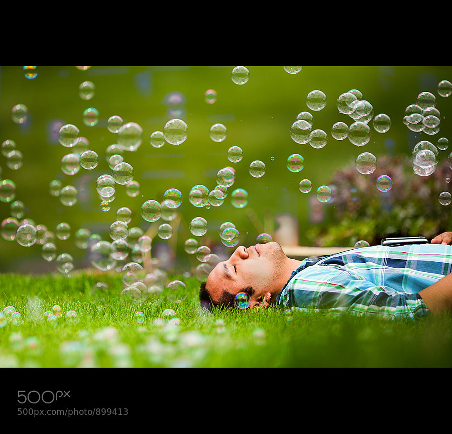 Photograph Bubble Nap by Brian Powers on 500px