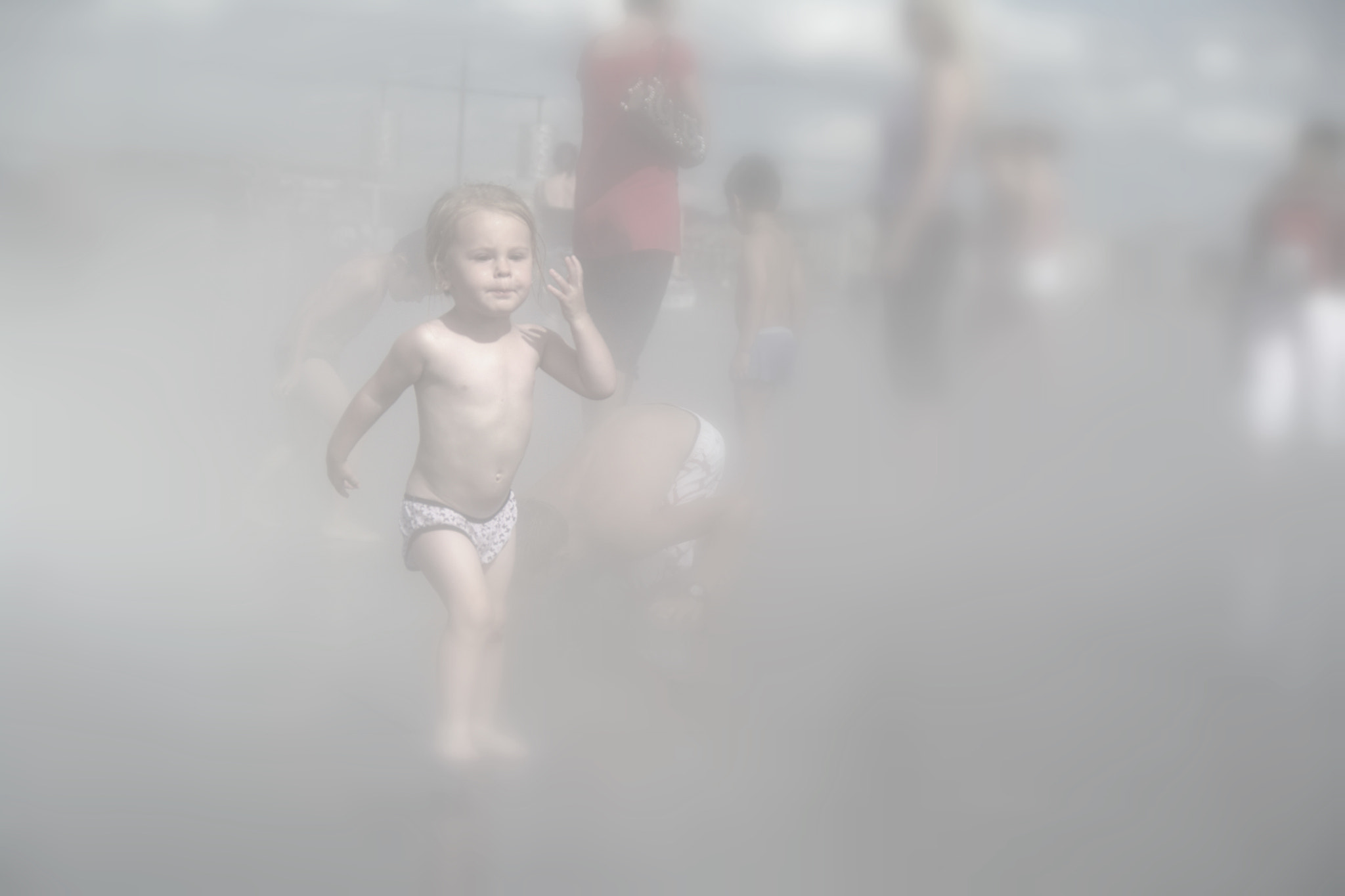 Photograph Little girl in fog by Steuker Photographie on 500px