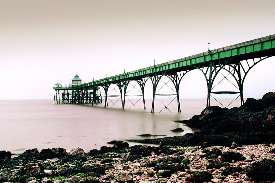Clevedon Beach and Pier