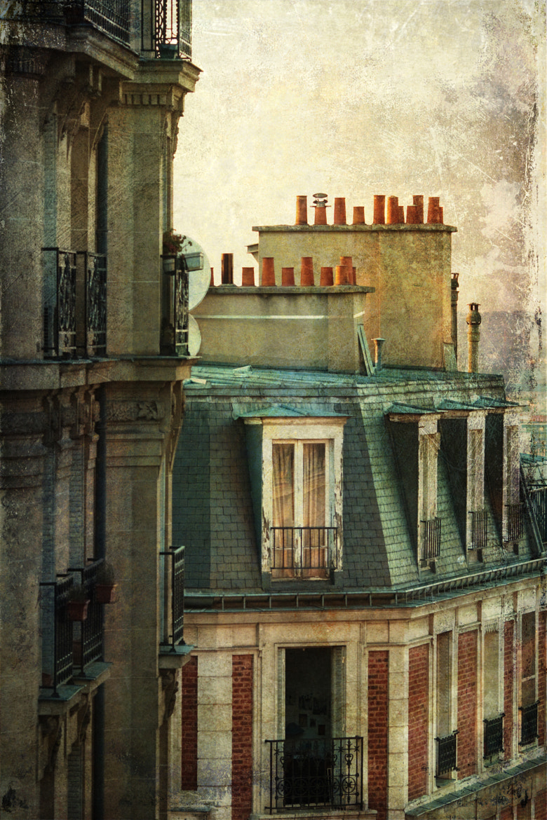 Photograph Parisian roofs by Christian Müller on 500px