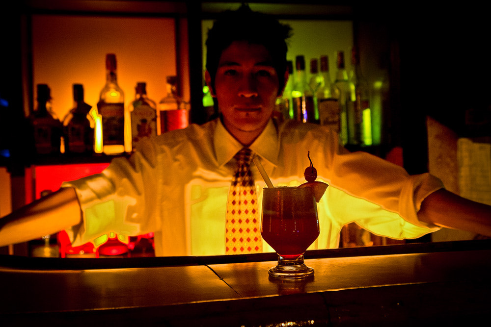 Photograph Barman by Héctor Barrera Carrera on 500px