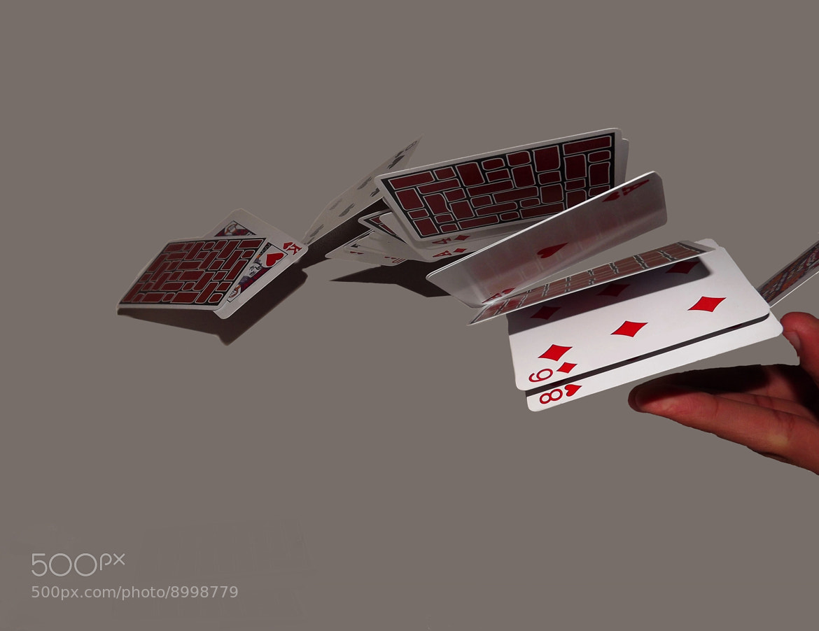 Photograph Flying Cards by Mosalam Dweik on 500px
