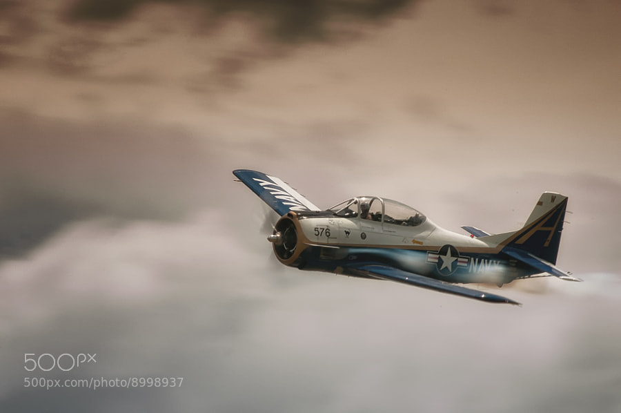 Photograph Navy T-28 Trojan by Jeff Greger on 500px