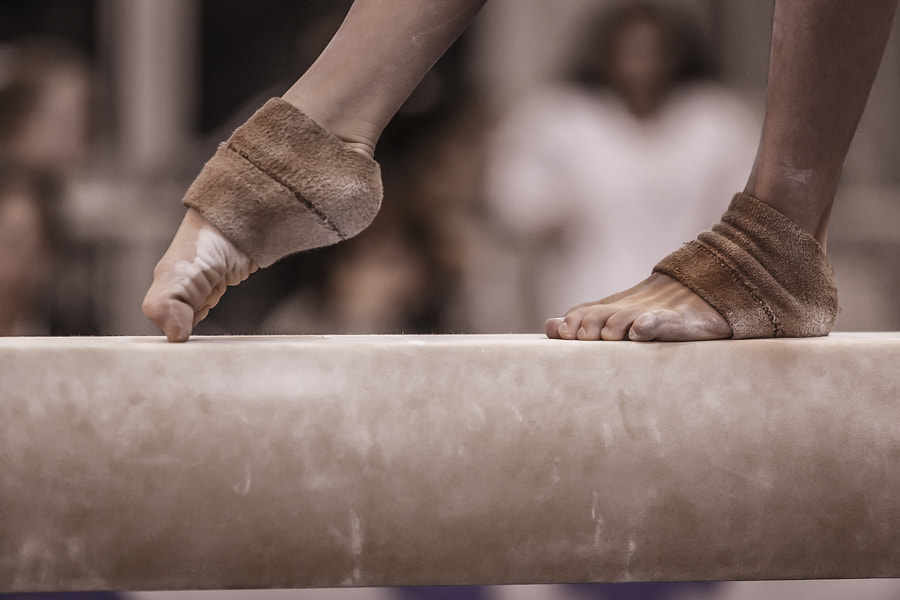 Photograph Gymnastic foot by Luigi Fardella on 500px