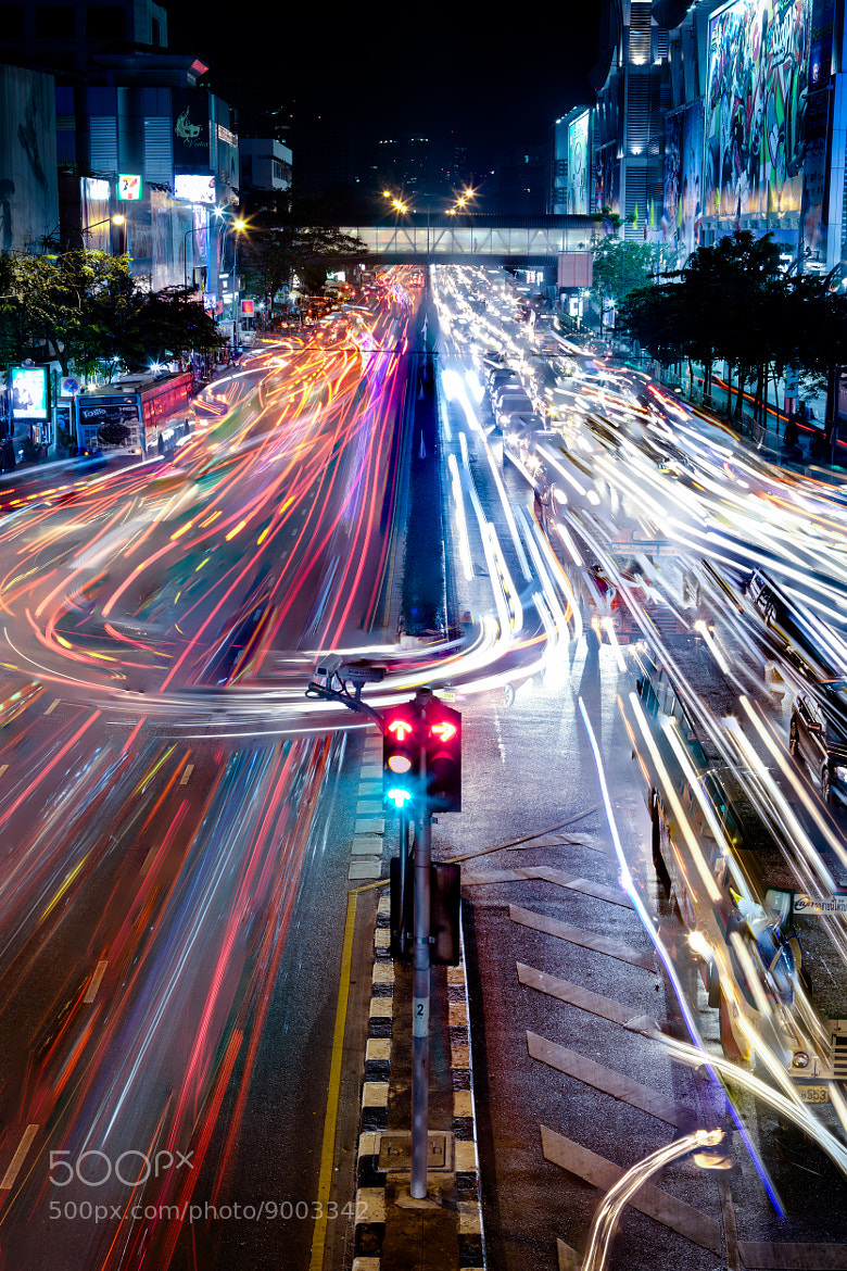 Photograph Bangkok Traffic by mark burban on 500px