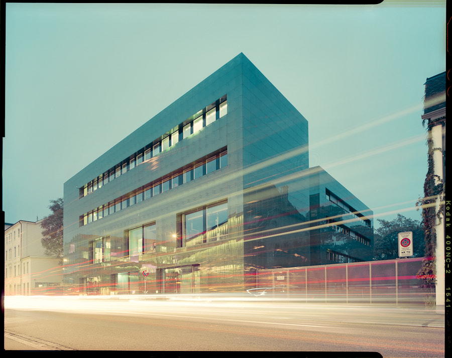 Photograph Institute for Hospital Pharmaceuticals, Rossettiareal  by Aron Lorincz on 500px