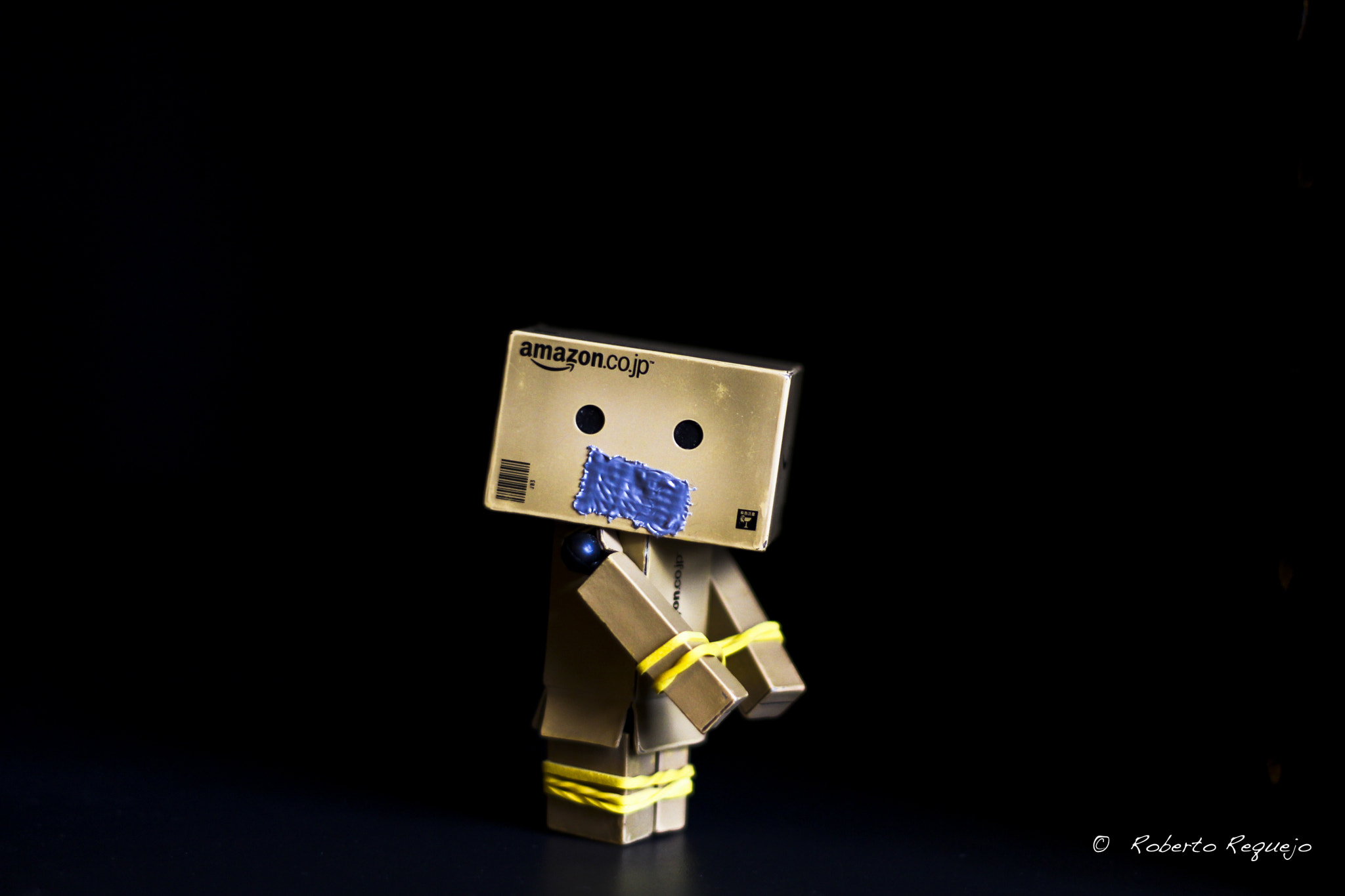 Photograph Danbo gets kidnapped by Roberto Requejo on 500px