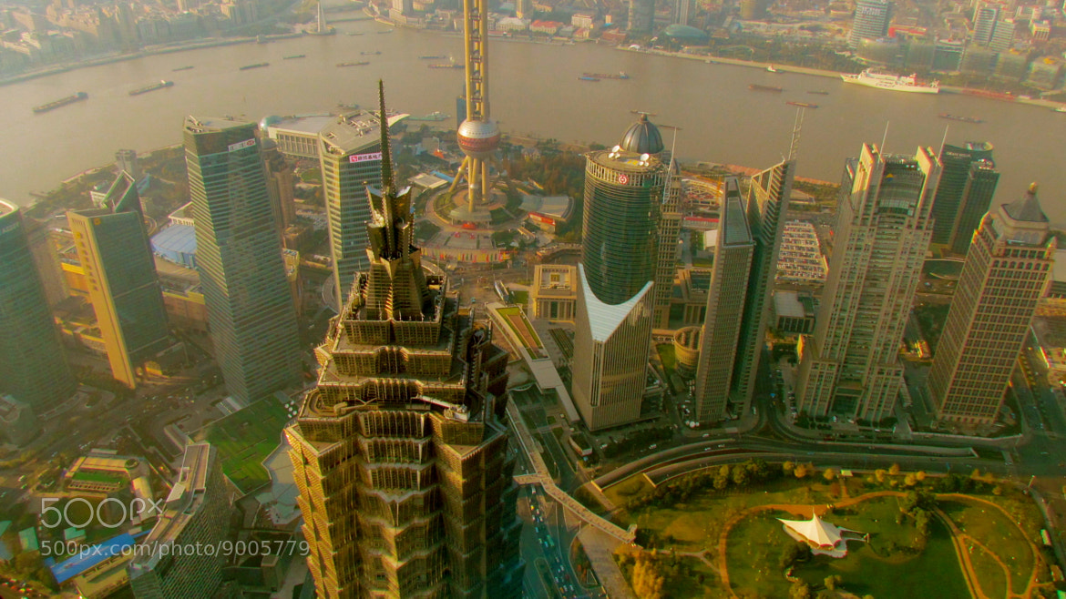 Photograph Shanghai Buildings by NIcolas Delcourt on 500px