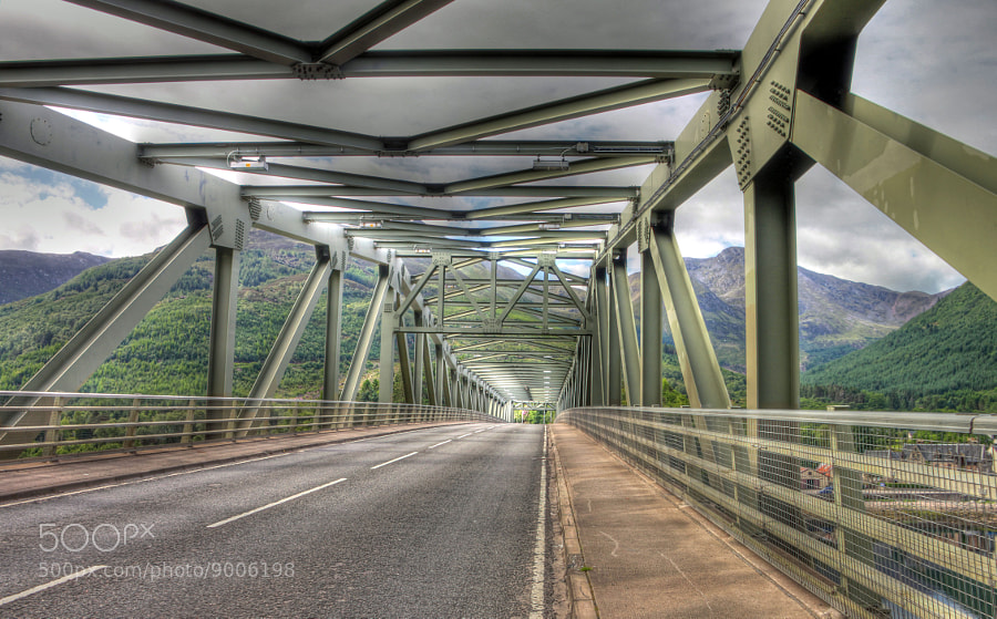 Photograph Ballachulish Bridge by Hilda Murray on 500px