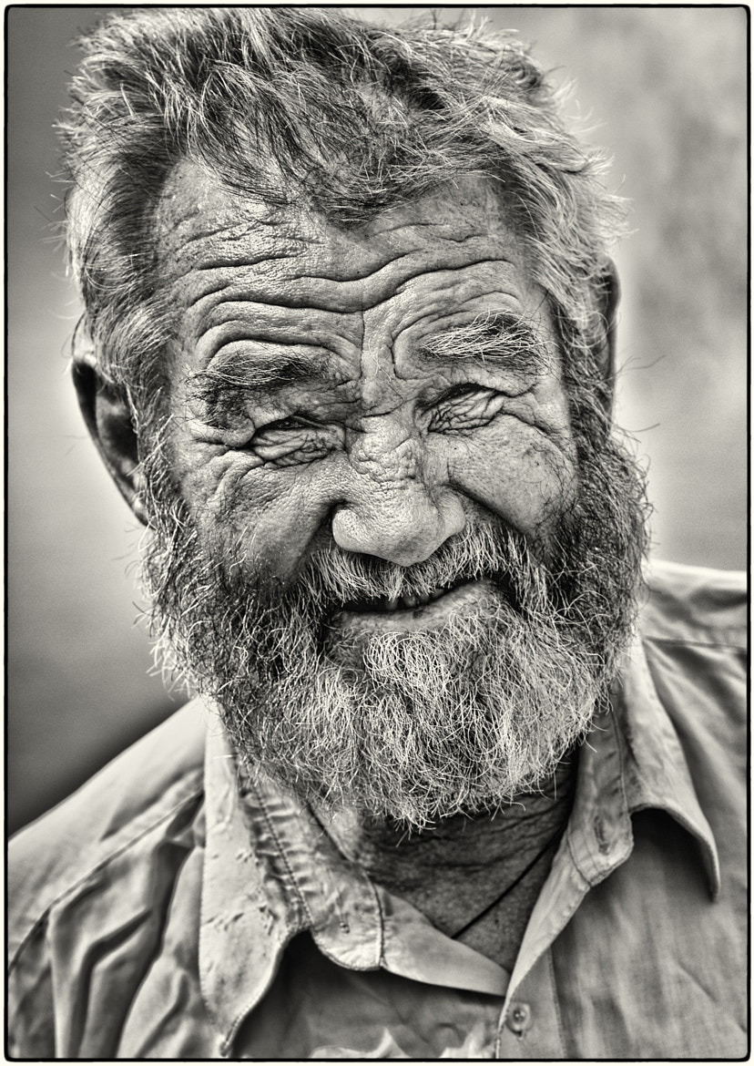 Photograph A life-story in a face by Bogdan Stefan on 500px