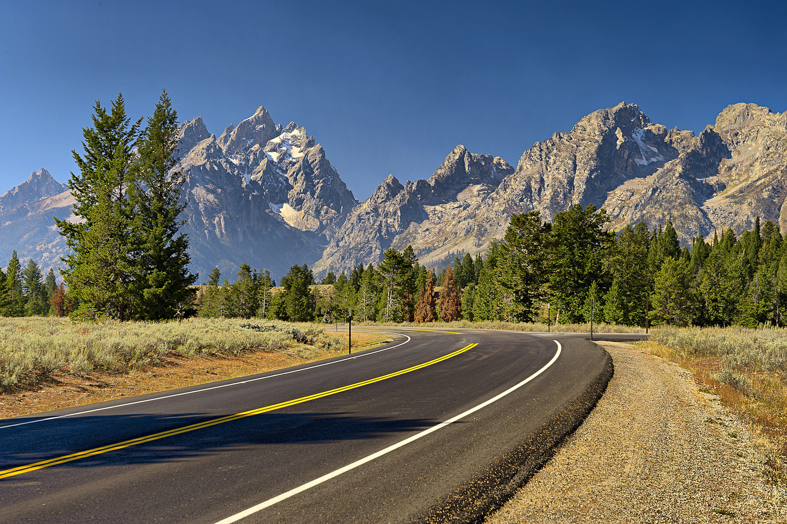 Photograph Grand Tetons Inner Road by Wil Bloodworth on 500px
