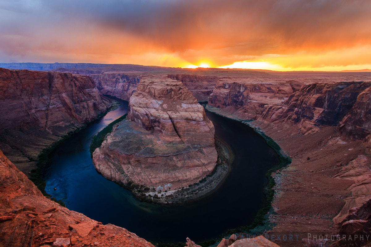 Photograph Horseshoe Bend Storm II by Paul Dekort on 500px