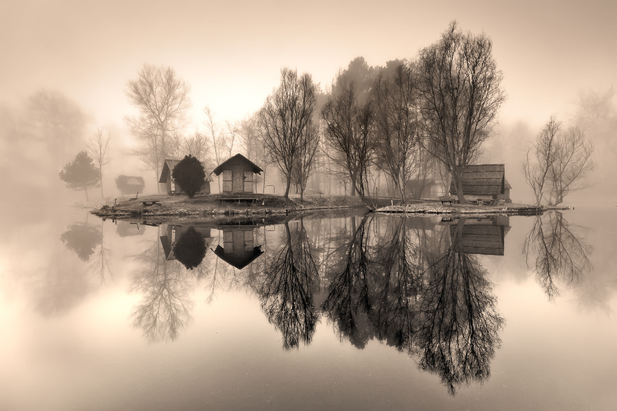 Photograph lost island by Adam Dobrovits on 500px