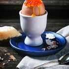 Постер, плакат: Egg with Red Caviar