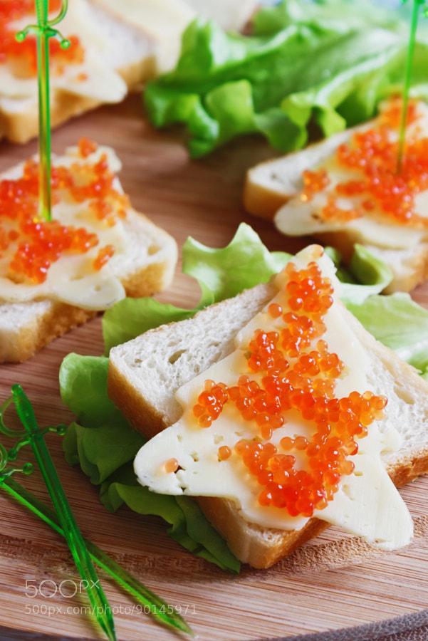 Photograph festive sandwiches by Jevgeni Proshin on 500px