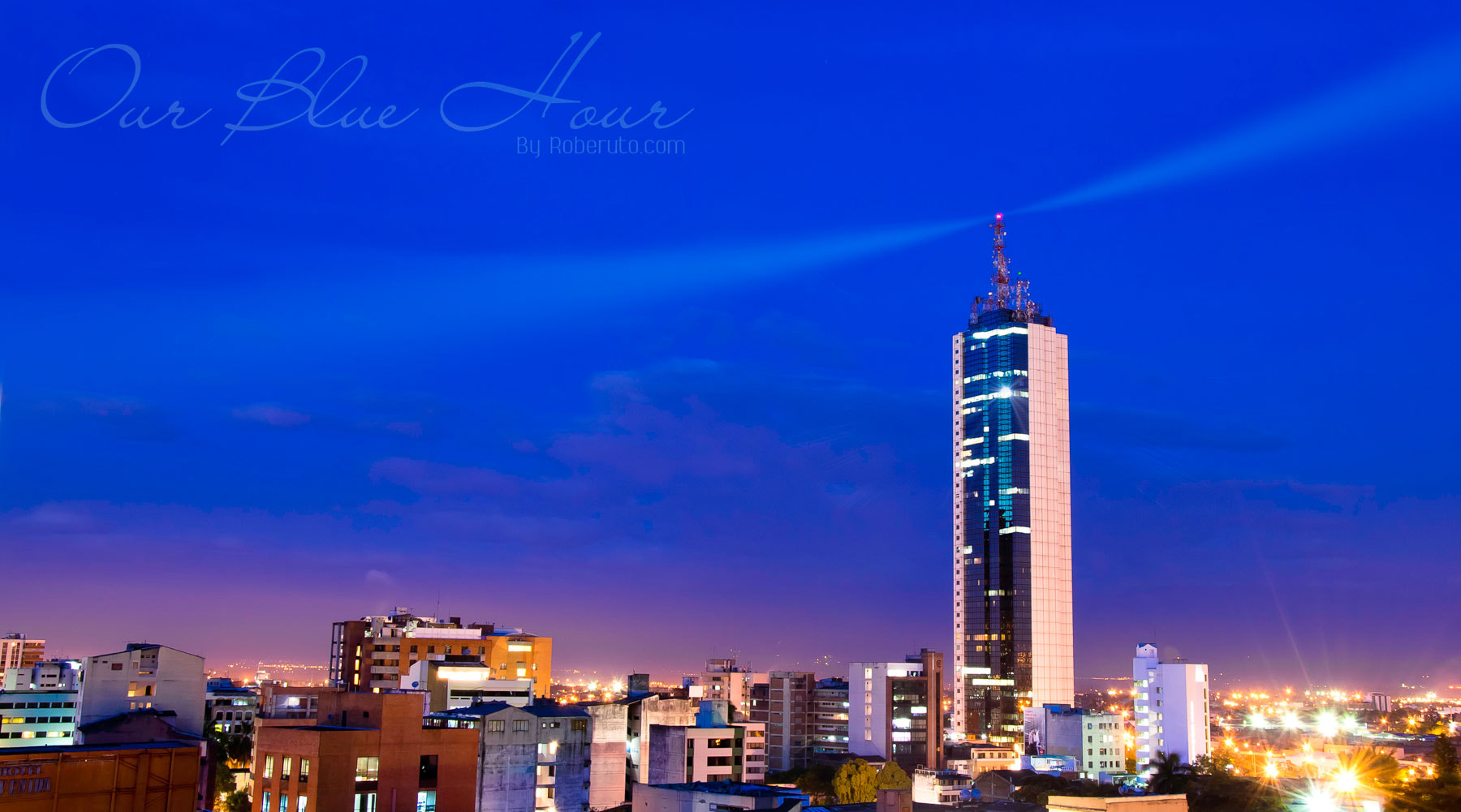 Photograph Our Blue Hour by Roberuto ロベルト on 500px