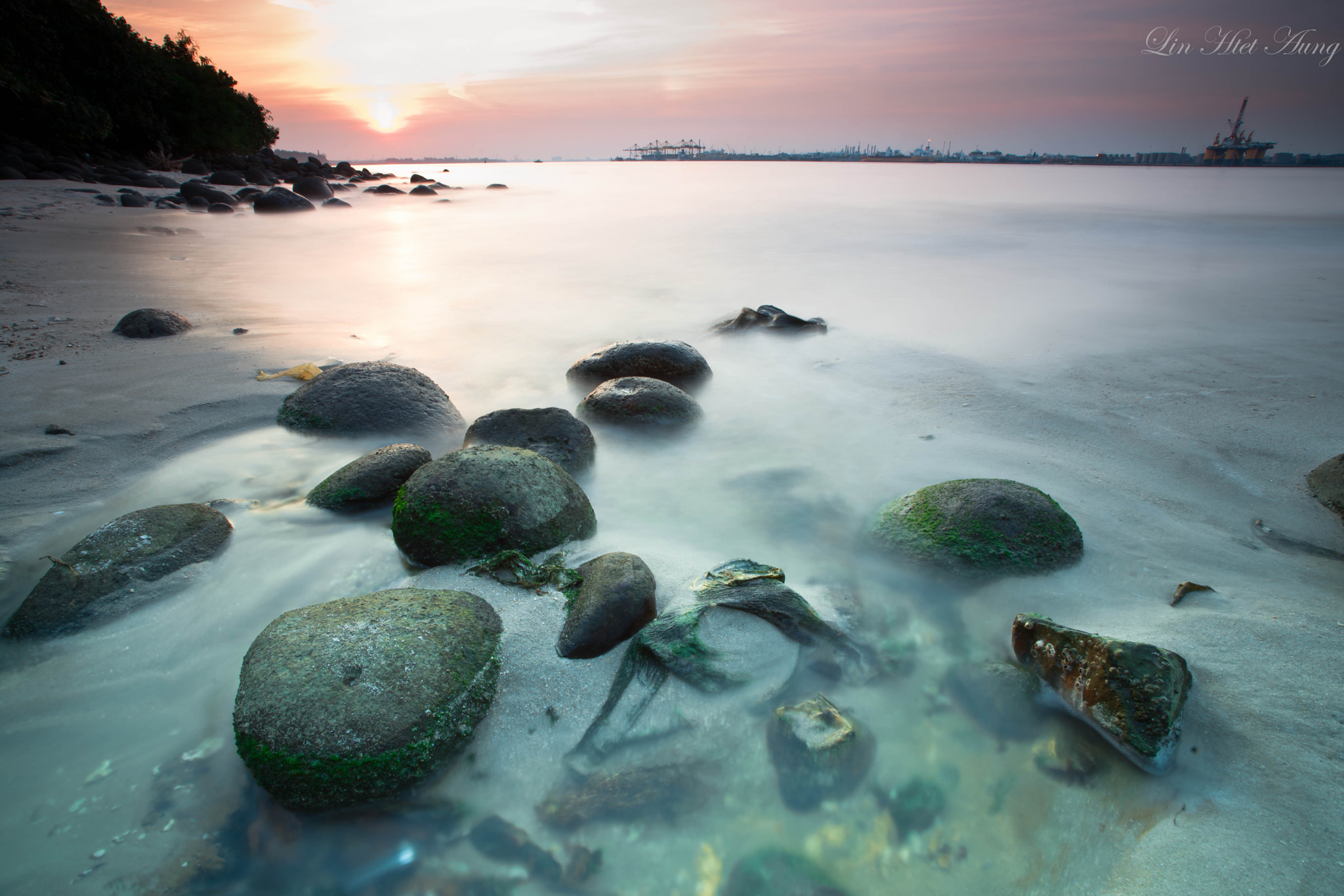 Photograph ::: Into the Sea ::: by Lin Htet Aung on 500px