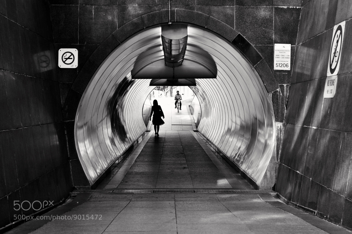 Photograph Tunnel by Eboy Pascual on 500px
