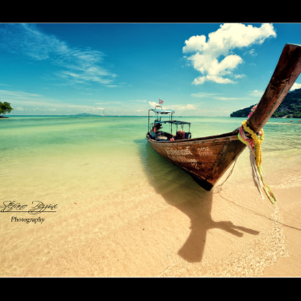 Long tail boat - Phi Phi - Thailand