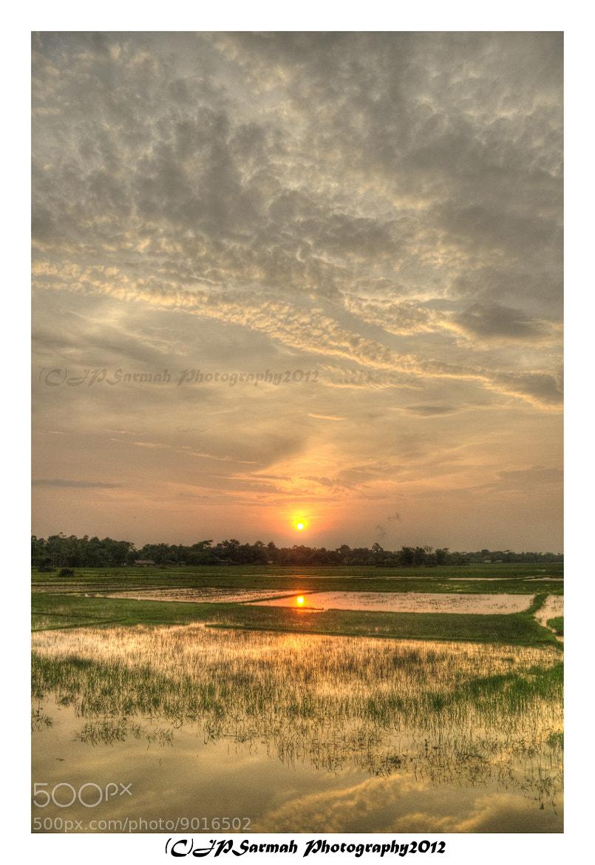 Photograph The last sunset by Jyoti Prakash Sarmah on 500px