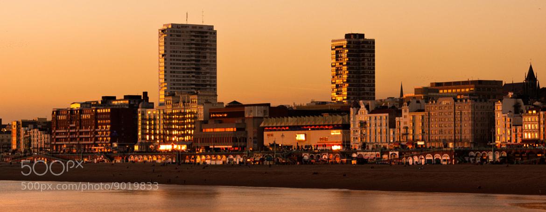 Photograph Brighton skyline sunset by David Asch on 500px