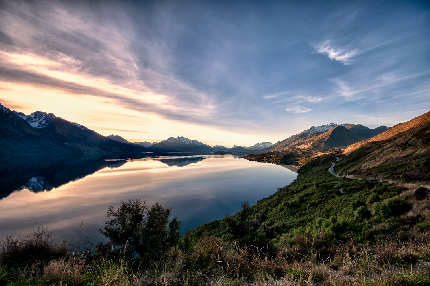 Photograph Bennetts Bluff road - Glenorchy by Martin Tyler on 500px
