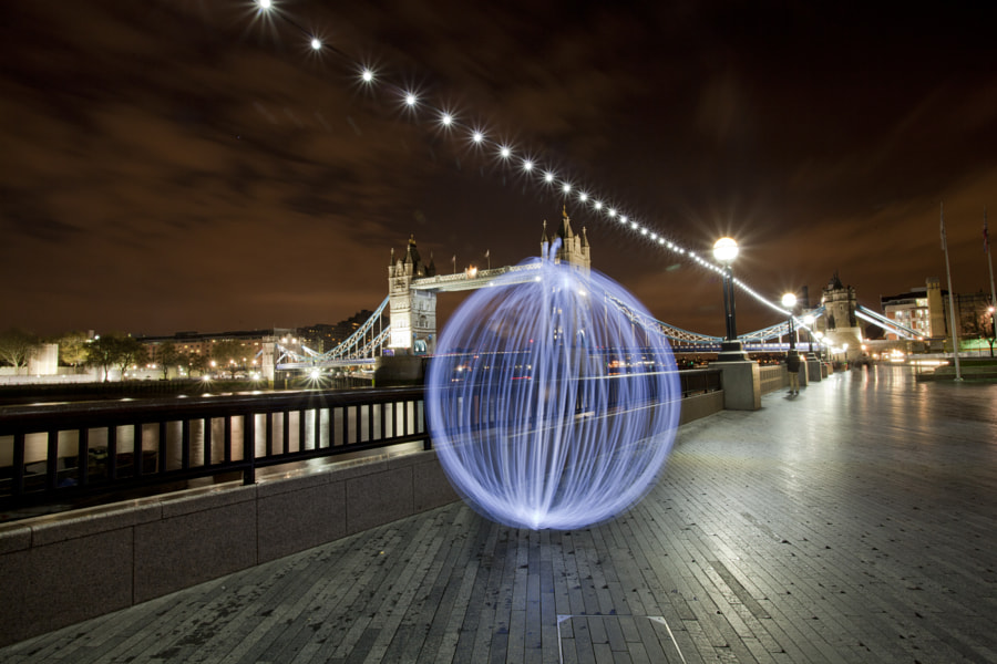 Tower Bridge and the Orb